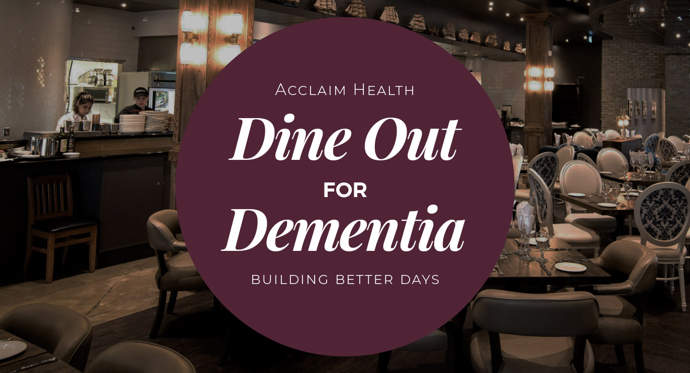 Dine out for Dementia title