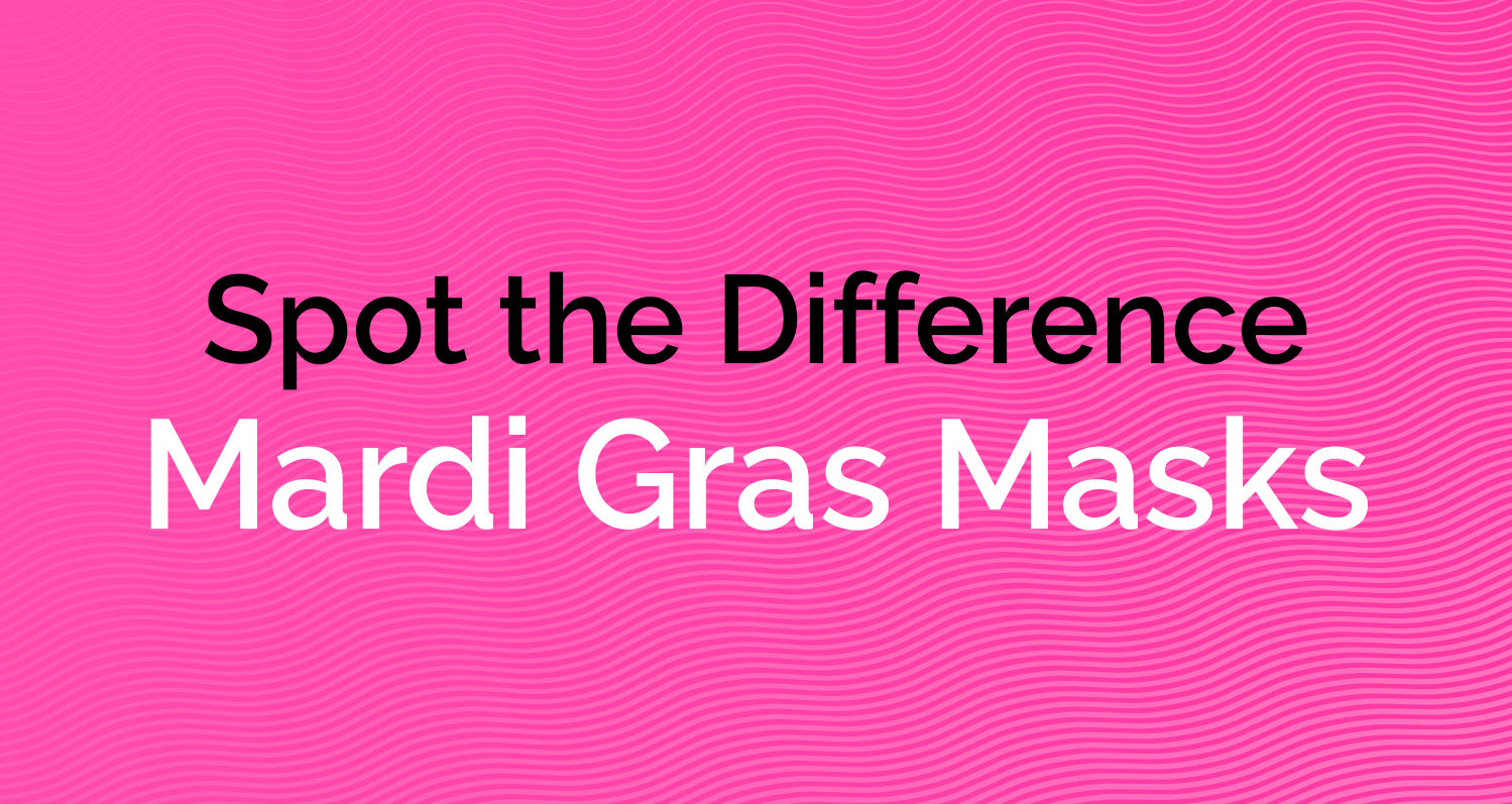 Spot the Difference - Mardi Gras