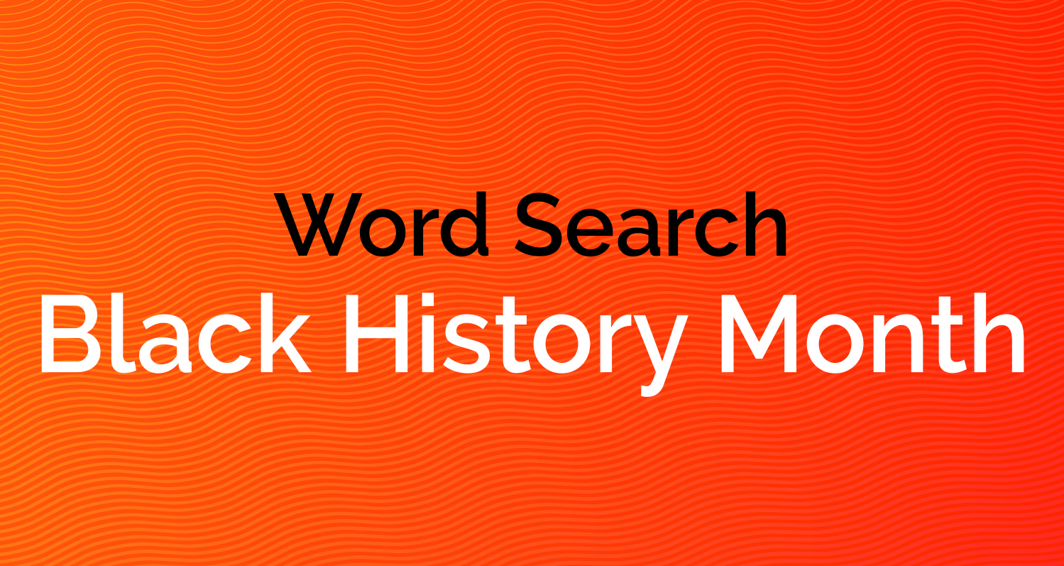 Word Search - Black History