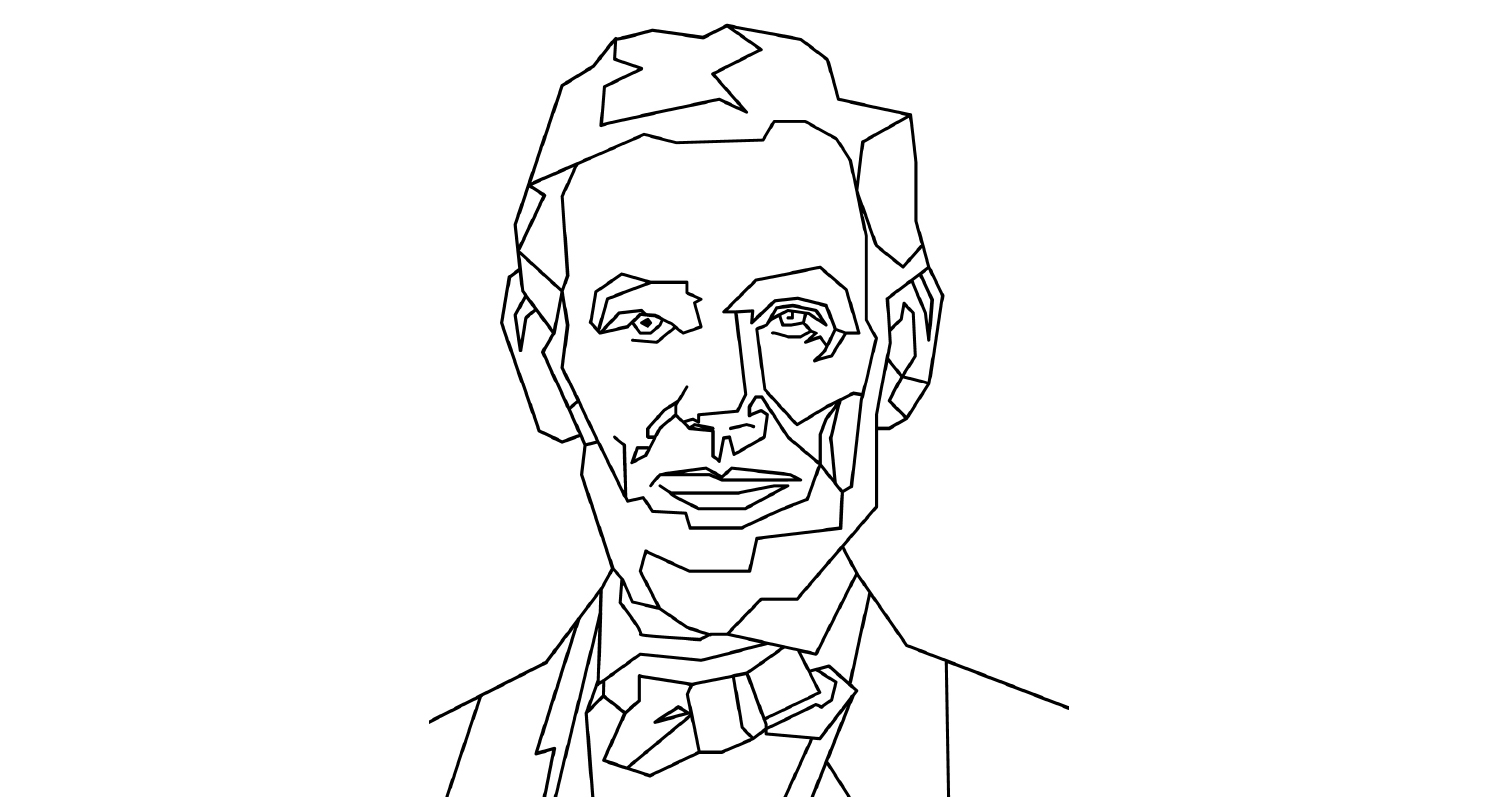 Colouring - Presidents day 2